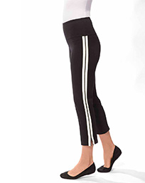 Crop Stripe Pant $89
