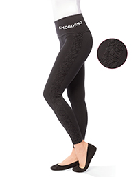 Lace Panel Ponte Legging $89